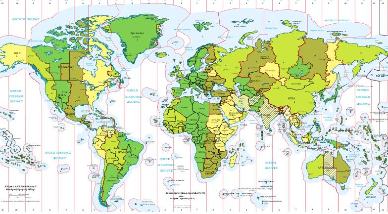 παγκόσμιος χάρτης αοζ