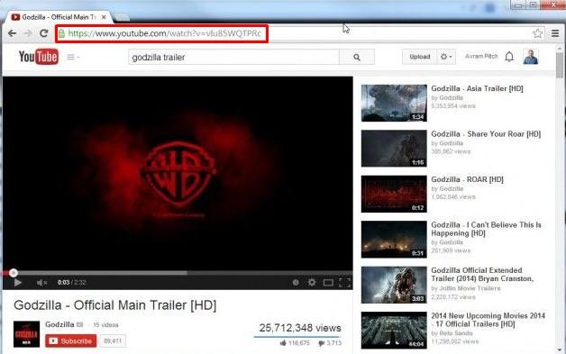 youtube url example image